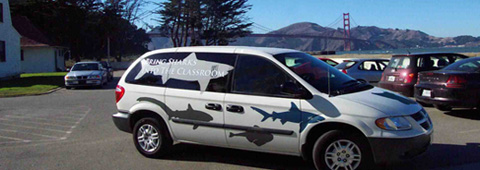 Sharkmobile Vehicle