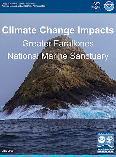 2020 Climate Impacts Profile cover: farallon islands